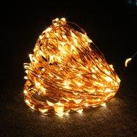 12 V Bakır Dize Işıkları 10 M 20 M 30 M 50 M LED Peri Işık Güç Adaptörü ile Düğün Parti Noel Ev Dekorasyon için