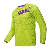 Sıcak satış Yibimotto Off-Road uzun kollu hız teslim t-shirt motosiklet yarış polyester hızlı kurutma takım elbise erkekler özelleştirilebilir