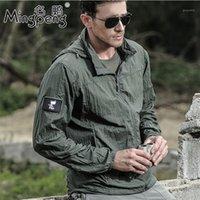 Vestes pour hommes Archon Veste tactique Armée Skin Outwear Soleque sole à écran solaire légère respirant coupe-vent rapide