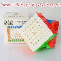 Yuxin Little Magic M Magnetic 7x7x7 Magic Cube 7x7 Speed Cube 4x4x4 5x5x5 Puzzle Cube 6x6x6 Cubo Magico 4x4 5x5 6x6 201219