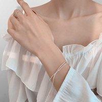 링크, 체인 Duoying 2021 패션 Sumer 가을 한국 스타일 수제 팔찌 얇은 팔찌 뱀 쥬얼리 여성용 선물