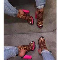 NAN JIU MOUNTAIN 2020 Spring And Summer High Heels Women's Boots Sandals Thick Heel Comfortable Platform Open Toe Sandals Y200702