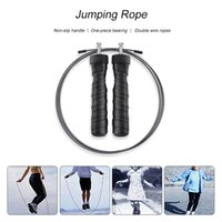Speed Skipping Jump Rope Adjustable Sports Lose Weight Exercise Gym Crossfit Fitness Equipment Q1206