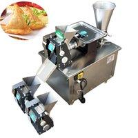 Kommerzielle automatische Edelstahlklotz Hautmaschine, Knödel Maschine Automatische Knödel SAMOSA Machine 4800pcs / h