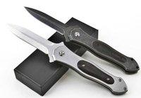 Guerriero imparziale AUS-8 Lama Stonewash singola azione tattica di salvataggio tasca pieghevole coltello da caccia pesca da pesca EDC Sopravvivenza strumento A2054