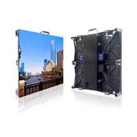 Display-LED-Zeichen P3.91 Outdoor-Panel 500x500mm Druckguss-Aluminium-Schrank Full Color-Bildschirm