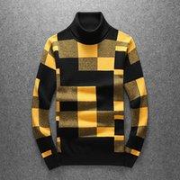 2021 새로운 남자들 럭셔리 신사 면화 줄무늬 컬러 블록 캐주얼 스웨터 풀오버 아시아 플러그 크기 고품질 드레이크 # N348 LL5B