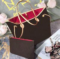 Quente 2 Pcs Set Mulheres Bolsa Bolsa Antiga Sapateiro Com Carteira Versão Atualizada De Alta Qualidade Revestida Canvas Sacos de Ombro Mãe Sacos Totes