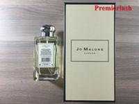 Jo Malone Londra Parfüm 100 ml Kadınlar Için Lime Basil Mandarin İngilizce Armut Denizi Tuzu Vahşi Bluebell Kalıcı Koku Köln Hızlı Gemi