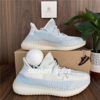 2021 En Kaliteli Kanye West Zebra Dünya Siyah Koşu Ayakkabıları Yekeil Yeshaya Zyon Keten Keten Statik Erkek Bayan Spor Sneakers Boyutu 36-48