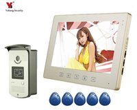 Video-Door-Telefone Yobang-Sicherheit 10-Zoll-Türbell-Telefon-Intercom-Kamera-Monitor-System mit 1 KIT1