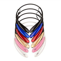 Toptan Kablosuz Kulaklık HBS800 Stereo Kulaklık Kulaklık Spor Boyun Bandı Kulaklık Kulak Kablosuz Bluetooth Headphowith Perakende Paketi