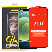 21D Full Cover Tempered Gla Telefon Screen Protector für iPhone 12 11 Pro Max iPhone SE 2020 XS XR Samsung A01 A11 A21 A21S A31 A41 A51 A71
