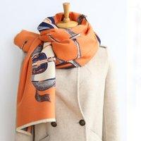 2020 inverno novo lenço duplo lenço mulheres cashmere senhora quente cachecóis grosso cobertor macio xales wraps1