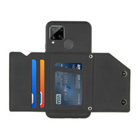 Cüzdan Kılıfı Oppo F17 Pro A9 A5 A11 Lüks Telefon Kılıfı Oppo RealMe C15 C11 C3 için RealMe 7i Kart Cep Kapak