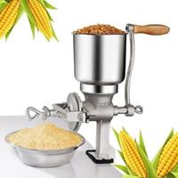 Ручная кукурузная шлифовка для пшеницы чугуна зерна зерна ручной измельчитель мозоль кофейной пищевой пшеницы ручной ручной зерна железа гайка мельницы