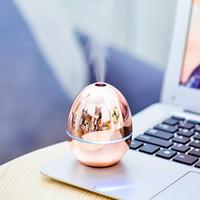 USB المحمولة سطح المكتب البيض الهواء المرطب الزيوت الأساسية الناشرين ضباب الهواء المرطب للمنزل مكتب غرفة نوم الطفل غرفة معدنية اللون