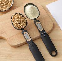 500G / 0.1G Digital Kitchen Misuratore Cucchiaio Cucchiaio da cucina Cucchiaio con display LCD Bilance elettroniche Forniture per la cottura Accessori da cucina AHF3300