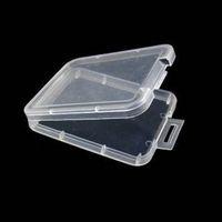 SD XD TF MMC-Speicherkartenhalter CF Karten Schutzbehälter Kunststoff transparent Aufbewahrungsbox Jewel Case JK2101XB