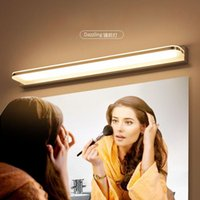 Modern Bathroom Light 7w 9w 12w LED Mirror Light Makeup Wall Lamp Vanity Lighting Fixtures Stainless Steel Mirror Lamp Chrome
