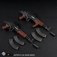 "1/6 Maßstab AK-Serie Holzkorn mit Butt AK47 Tactical Weapon Gewehr Gun Modell Spielzeug Fit 12 ""Soldat Action Figure Puppen DIY"