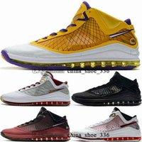 Enfant Sneakers النساء الكلاسيكية ليبرون 7 الرجال zapatos المدربين 46 38 تنس أحذية lebrons السيدات رجالي جيمس كرة السلة حجم الولايات المتحدة الرياضية يورو 12