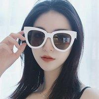 Güneş Gözlüğü Outmix Retro Kedi Göz Kadınlar için Moda Marka Tasarımcısı Vintage Büyük Çerçeve Güneş Gözlükleri Lady UV400 Feminino1