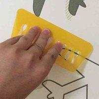Pegatinas de pared YunPoint Wallpaper Scraper Pegatina de plástico Herramienta de película de vidrio