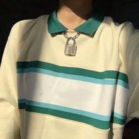 Yeni Erkekler Tasarımcı Hoodie Baskılı Çizgili Hoodies Hoody Tişörtü Kadife Pamuk Kalınlaşmak Polar Uzun Kollu S-XL