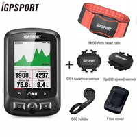 IGPSPORT IGS618 GPS Bike Computer Computer + tachimetro wireless Impermeabile Bicycle Computer Bluetooth 4.0ble Accessori per biciclette