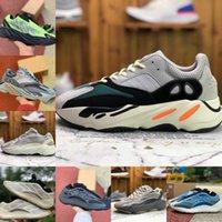2021 Kanye West 700 Azareth Erkek Sneakers Koşu Ayakkabı Azael Alvah Utility Siyah Dalga Runner MNVN Fosfor Turuncu Kemik Bayan Spor Ayakkabı