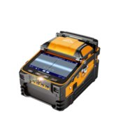 Faseroptikausrüstung AI-9-Signal-Brand-Multi-Sprache-optische Fusion-Splicer-FTTH-Spleißmaschine eingebautes Leistungsmessgerät und VFL