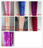 1 متر طويل الاصطناعي الحرير الزهور الوستارية كرمة الروطان 20 ألوان وهمية زهرة الجدول المركزية الزفاف الديكور حديقة جدار زهرة CCD3459