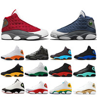 Yeni Klasik Denizyıldızı Hiper Kraliyet 13 Flint Erkekler Basketbol Ayakkabı Chicago Ada Şanslı Yeşil 13s DMP Kadınlar Erkek Eğitmenler Spor Sneakers Bred