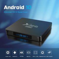 X96Q Pro Android 10,0 TV Box TV Allwinner H313 Quad Core 2.4G / 5G WIFI 2GB 16GB 4KX2K HDR X96Q Set Top Box
