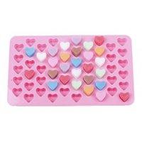 Симпатичные формы для торта Липкие формы Силиконовые конфеты Форма для ледяного кубика Льдяной лоток Пищевая и силиконовые формы 18,2 * 10,8 * 1 см HHA3512