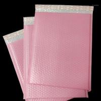 50 pz 3 taglie 3 taglie rosa Borsa a bolla in plastica auto sigillatura busta impermeabile Polyer spedizione spedizione bancari business fornitore1