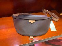2021 Yeni Stlye Ünlü Bumbag Çapraz Vücut Moda Omuz Çantası Kahverengi Bel Çantaları Bum Unisex Bel Çantaları