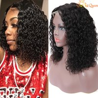 Peruvian curly hair wigs 13x4 wave wave bob wig new arrival ...