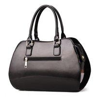 Bolsa de couro de patente mulheres bolsas bolsas de ombro messenger envernished mulheres bolsa lacada bolsa lacada