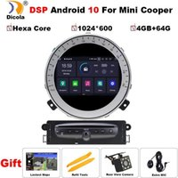 Hexa Core DSP 4 + 64g PX6 Android 10 Car DVD GPS Navigation Player Multimedia Stereo dla Mini Cooper po 2007-2014 Radio1