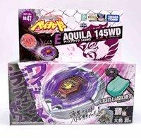 2020 Takara Tomy Japão Beyblade Fusion de Metales BB-47 Aguila Tierra Aquila 145wd Lanzador como crianças Brinquedos Y1130
