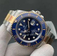 41mm mens cerâmica v11 versão automática cal.3235 assistir 904L ouro ouro 126613lb mergulho glidelock fecho homens eta noobf fábrica n 126613 relógios