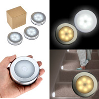 Corridor Wall Light Led Human Body Induction Intelligent Sensing Lamps Circular Lights White And Yellow Colors Easy To Install 8 5jx N2