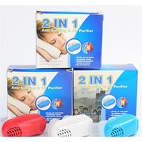 2 em 1 Anti Stop Snoring Snore Magnético Sile Sile Snore Purificador de ar aliviar o congestionamento nasal Sono D Jllnws Lucky2005