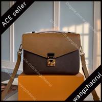 최고 품질의 여성 크로스 바디 백 정품 가죽 메신저 가방 여성 어깨 가방 패션 지갑 상자 B002