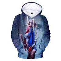 2020 neue Movie Harley Quinn 3D gedruckt Hoodie Sweatshirts Männer Frauen Mode Lässige Pullover Vögel des Beute Harajuku Coole Hoodies C1117