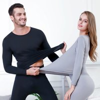 Thermal Underwear Set Long Johns para Homem Feminino Roupas Quentes Mulheres Terno de Inverno Desgaste Plus Size Pajama Mens Bodysuit Underwear