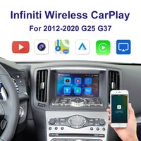 Wriloses Auto Carplay Interface-Unterstützung iPhone Android Auto YouTube-Video für 2012-2020 Infiniti G25 G37