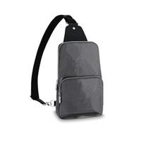 Avenue Avenue حبال حقائب الكتف مصممي الفاخرة حقيبة crossbody الصدر حقيبة أعلى جودة جلد طبيعي في الهواء الطلق حزم السفر محفظة